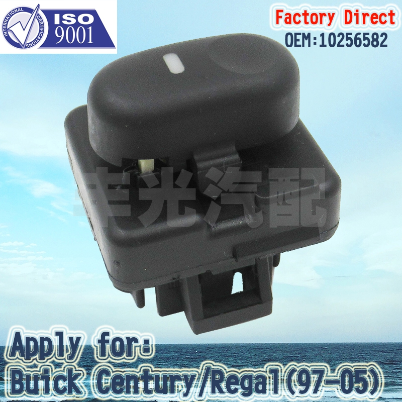 Factory Direct Auto Power Window Switch 10256582 1997-2005 Apply For Buick Century Regal Rear(3PCS/Lot)