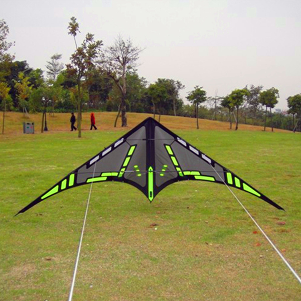 free shipping high quality dual line stunt kites puppet kite bar handle line flying toys sports kites beach outdoor games surf