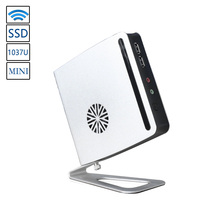 Celeron 1037U Мини-ПК Core 1.8 ГГц Windows Desktop стенд Тонкий клиент Макро Компьютер Пк с wifi usb3.0 hdmi + vga