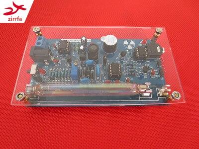 Zirrfa livraison gratuite mise à niveau assemblé électronique bricolage Geige Geiger compteur Kit; détecteur de rayonnement nucléaire; GM Tube connecter