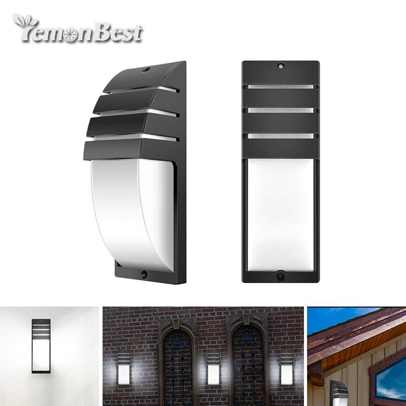 LED COB mur lampe AC 85-265 v moderne minimaliste mur lampe extérieure 8 w étanche IP65 maison corridor balcon lumières décoratives
