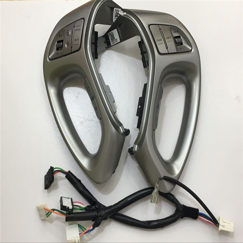 Fast Delivery For Hyundai Ix35 Car Multi-function Cruise Control Steering Wheel Buttons With Bluetooth Button In Silver