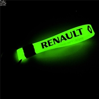 100pcs Luminous Car keyring Case for Renault Megane 2 3 Duster Logan Clio car accessories Motorcycle Automobiles car styling