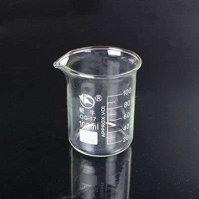 Image 5 - 5ml 3000ml GG 17 Borosilicate Glass Beaker High temperature resistance Beaker Laboratory Equipment Glassware School SuppliesBeaker   -