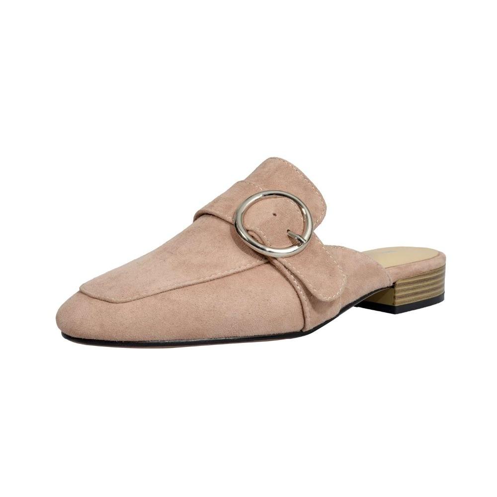 Tacón Dedo Cuadrado Venta Caliente Negro Sandalias Niñas Mujeres 2019 L69 Zapatos Bajo Retro Hebilla apricot Las Superestrellas Cuero De Pie Genuino Del xYOPxdBwq