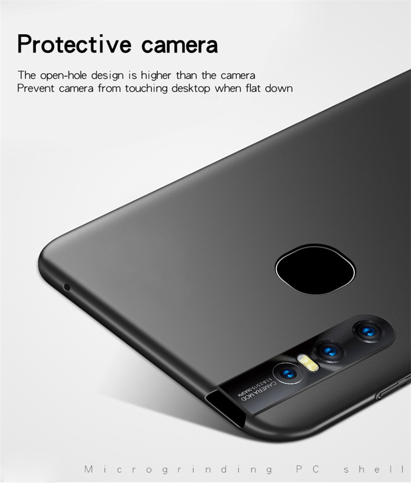 Image 5 - ViVO V15 Case Silm Shockproof Protective Cover Luxury Ultra Thin Smooth Hard PC Phone Case For ViVO V15 Back Cover For ViVO V15-in Fitted Cases from Cellphones & Telecommunications