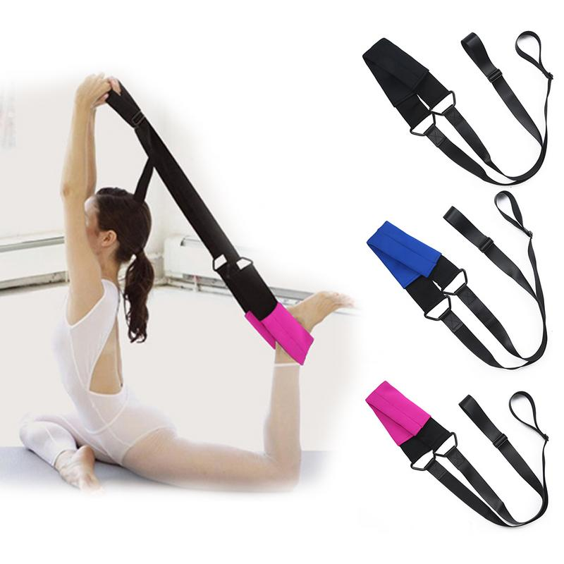 1 Piece of Ballet Soft Opening With a Word Martial Elastic Stretch Belt for Dance Ballet Yoga Practice Pull Belt for Female