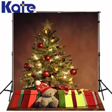christmas hintergrund The bear children Christmas tree 5x7ft(1.5×2.2m) fabric for the background in the photo studio ZJ