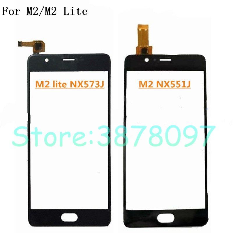 5.5 inches Replacement Original For ZTE Nubia M2 Lite NX573J / M2 NX551J Touch Screen Digitizer Sensor Outer Glass Lens Panel(China)