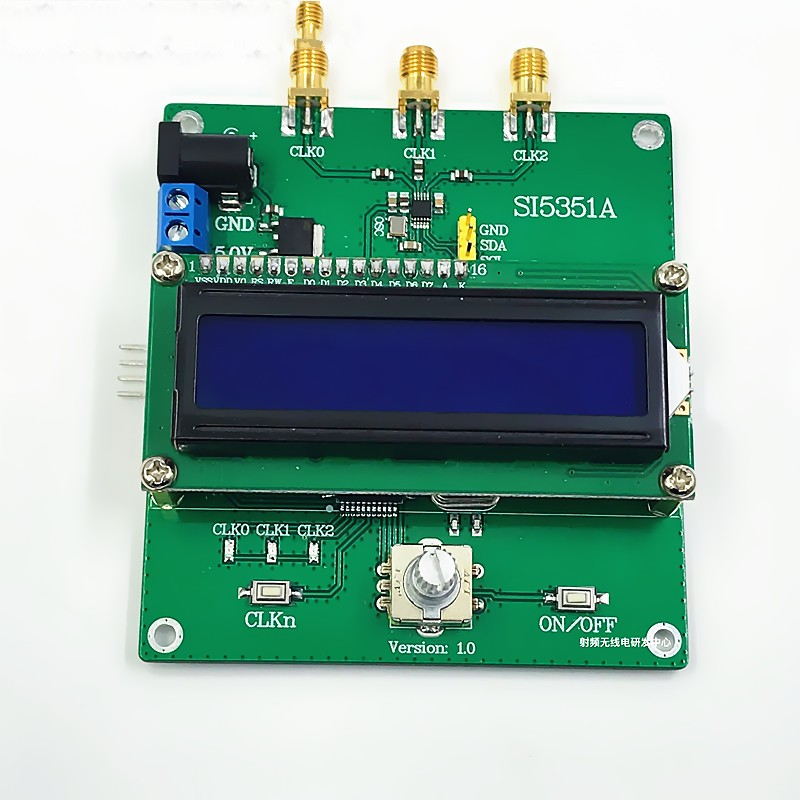 SI5351A RF Clock Module