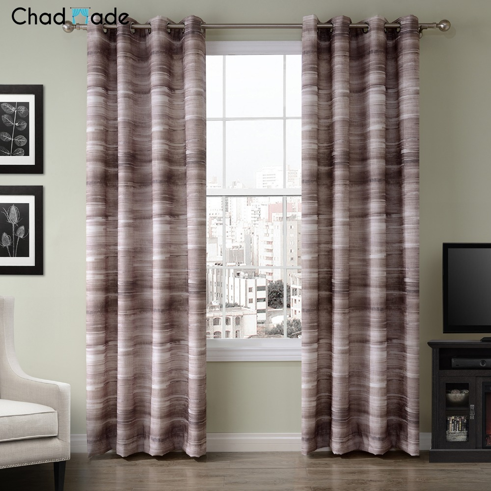 Modern Luxury Curtains - Chadmade new arrival modern luxury curtains for living room kitchen bedroom window blackout kids sheer window panel bl8076f