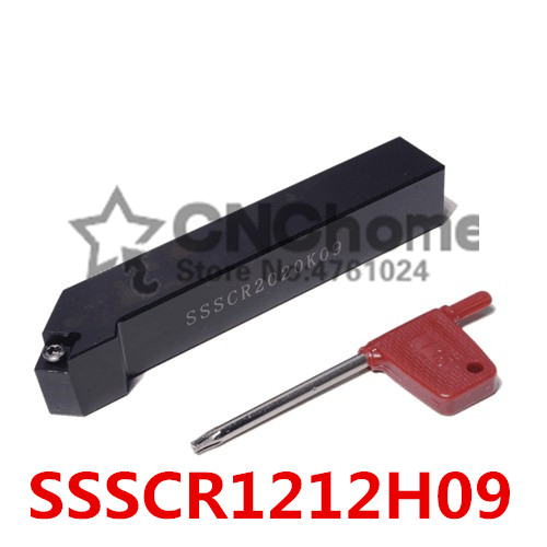 SSSCR1212H09/ SSSCL1212H09 CNC Turning Tool Holder,External Turning Tools, 45 Degree Lathe Cutting Tool, SCMT09T3 Turning Holder