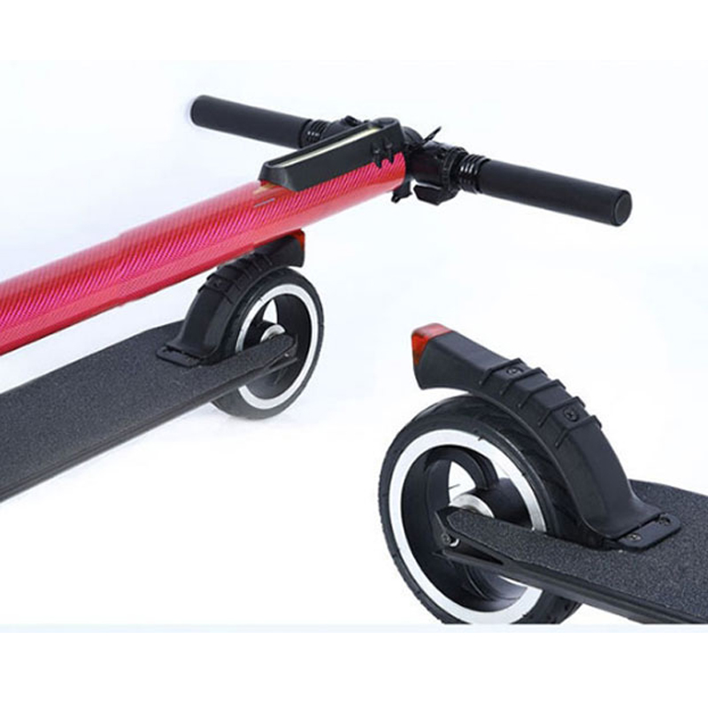 5 Inch Size Rear Wheel Back Wheel for S3 S2 I7 I6 JACK HOT JASION Carbon Folding Mini Electric Scooter Rear Wheel Hubs Tire Tyre