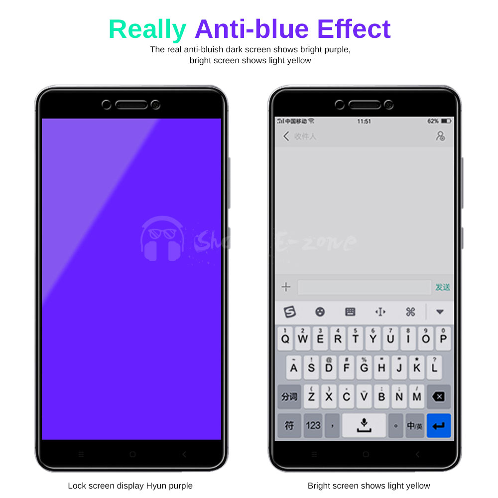 US $1 41 29% OFF|Shareezone Tempered Glass For Xiaomi Redmi 5A Note 5A  Redmi 4X 4A Screen Protector For Redmi 4X 5A 4A Anti Blue Light Glass  Flim-in