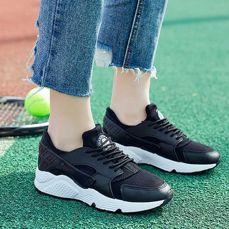 Fashion Vulcanize Shoes Trainers Women Sneakers Casual Shoes Basket Femme Air Mesh Tenis Feminino Zapatos Mujer Plataforma