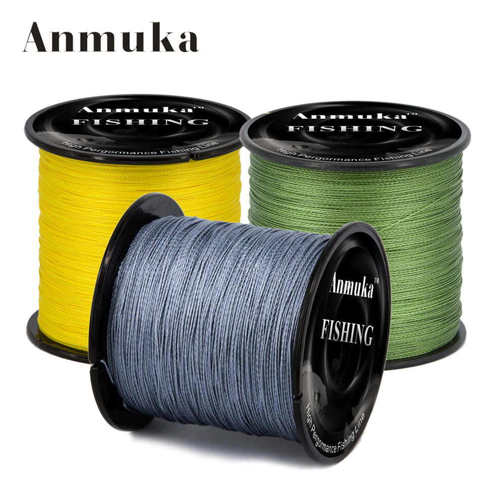 Anmnka 300m 4 braided fishing line10lb 20lb 30lb 80lb for 20 lb braided fishing line