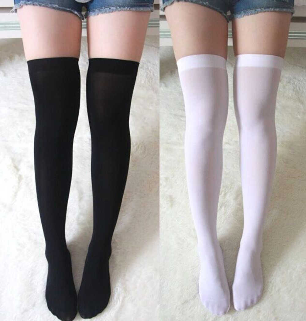 e4dc16c16 Cosplaydiy Whole Sale Japanese School Uniform Stocking Women s Lolita Over-knee  sock Cosplay Stockings Girls