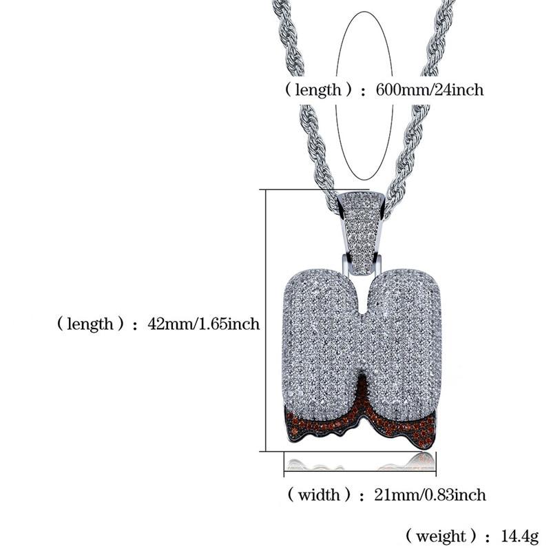 bubble letter necklace48