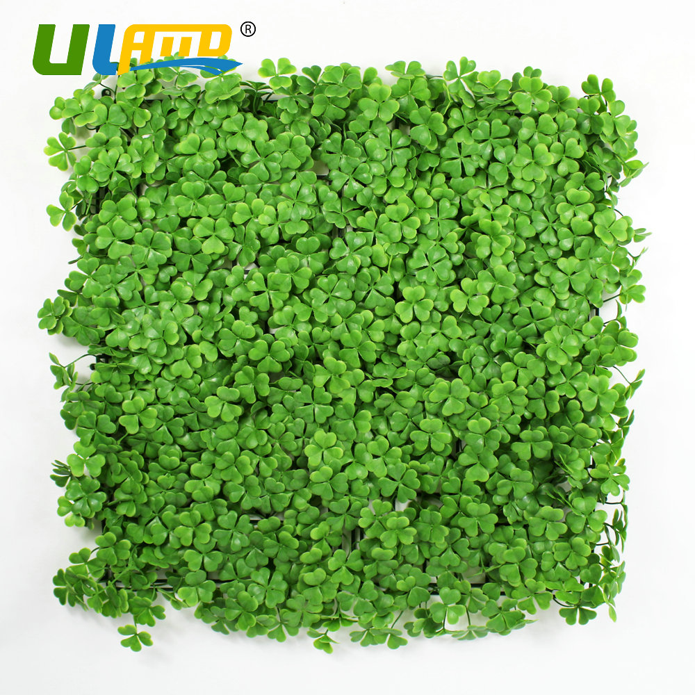 Uland Wall Cover Diy Garden Decoration Plastic Clover