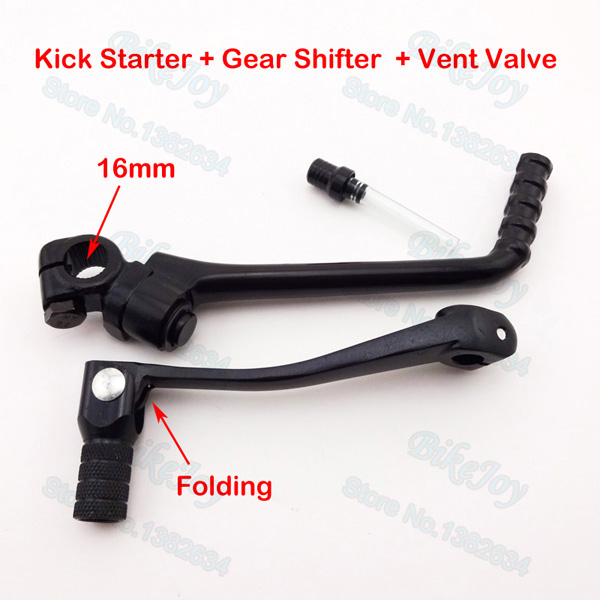 13mm Kick Starter Arm Lever Pedal For 50 70 90 110 125cc Engine Pit Dirt Bike