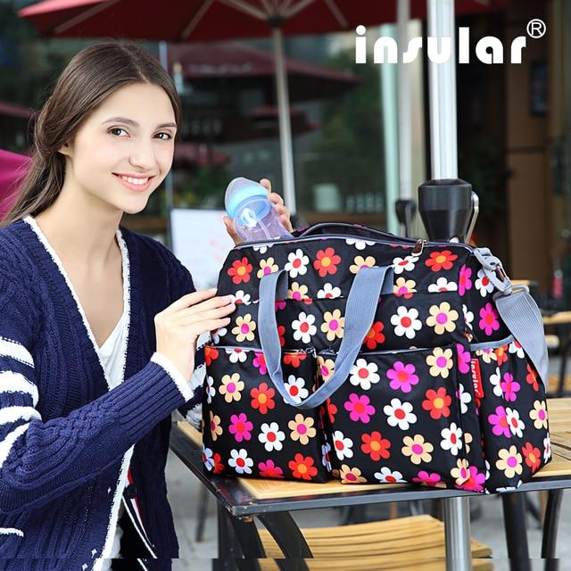 2016 Urban Series Fashion Multifunctional Baby Diaper Bag Changing Bag Waterproof Nappy Bag Free Shipping Mommy Bag