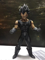 Anime Dragon Ball Z Vegeta chocolate Black PVC Action Figure 26CM