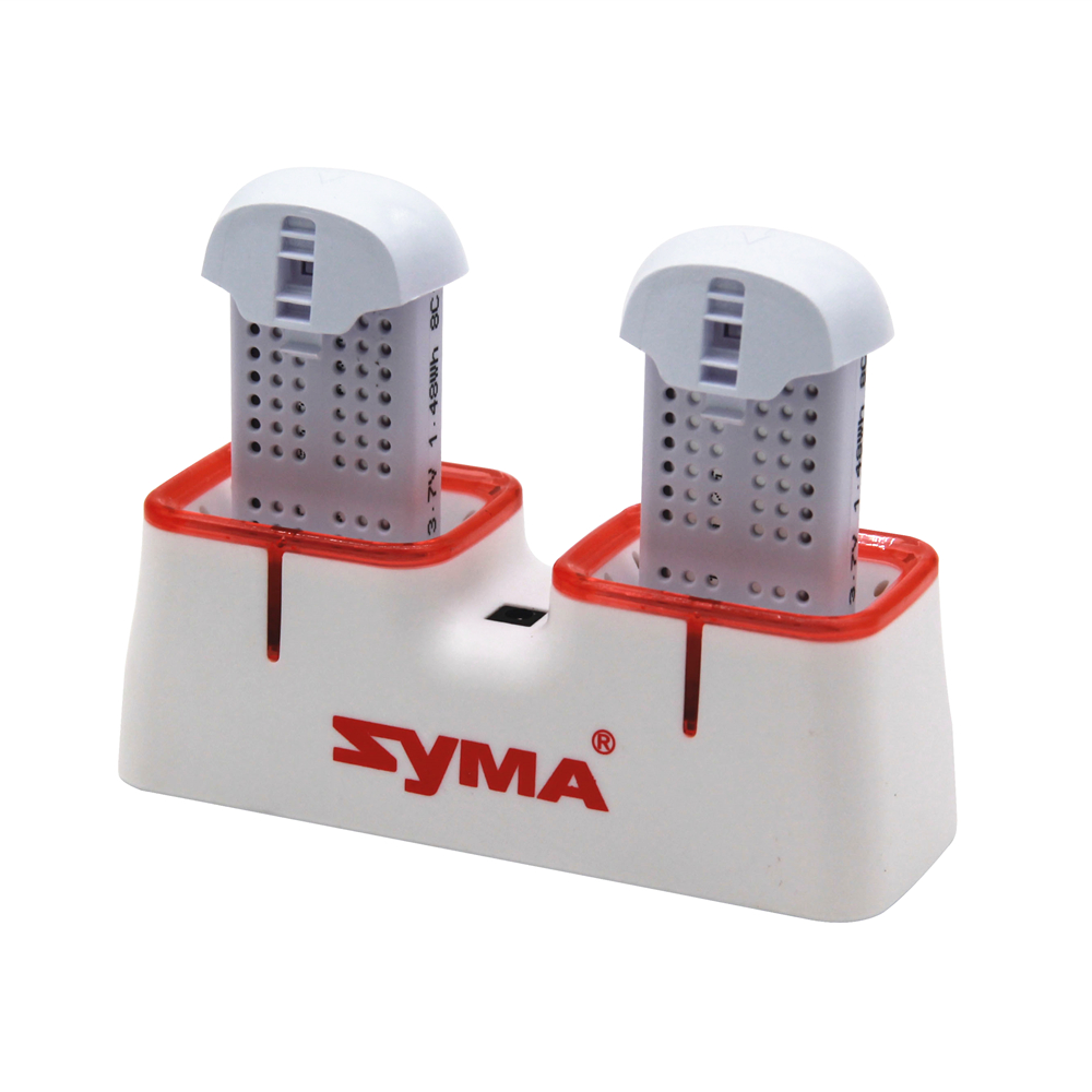 Original Syma X22 / X22w drone battery with charger RC Quadcopter Spare Parts Accessories 3.7V 400mAh Battery