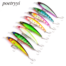 POETRYYI 2018 New arrived 11cm 13.4g  fishing wobblers minnow, lures hard bait ,Fishing Tackle pescaria acessorios 50