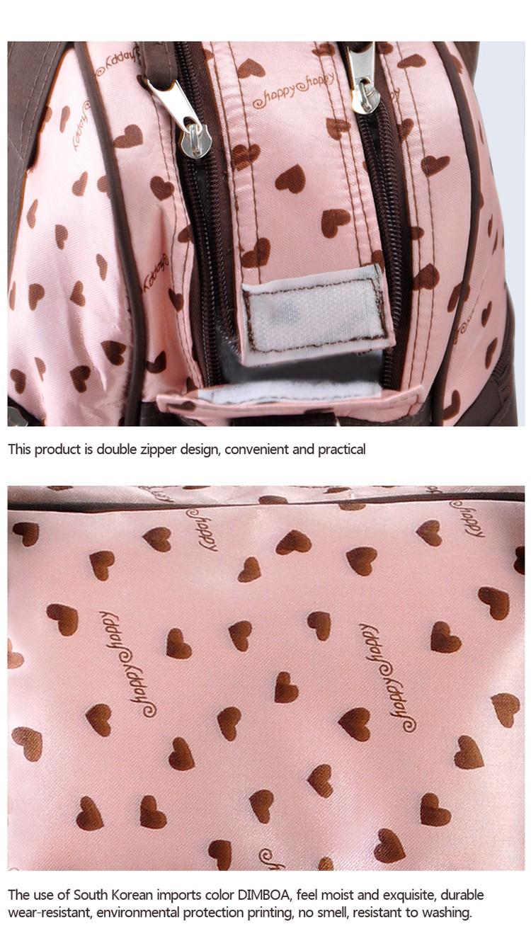 insular multifunctional diaper bags maternity mummy handbag baby care stroller bag High capacity mother Messenger nappy bags 12