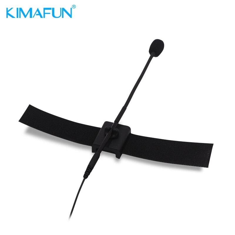 KIMAFUN CX900 pince de Microphone à revers micro micro à micro filaire Instrument flûte pince de Microphone pour Shure Sennheiser MiPro AKG