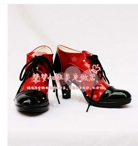 Black Butler Alois Ciel Phantomhive Cosplay Costume single Shoes Boots