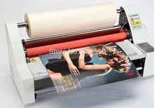 Hot Roll Laminator Laminating Machine 13inch Four Rollers + one roll laminating film 200M