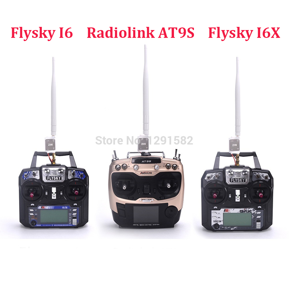 Amplificateur de Signal Radio Radiolink AT9S/Flysky Fs-I6/I6X & 2.4G pour Drone de course quadrirotor FPV RC