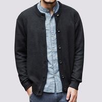 새로운 남성 카디건 패션 스웨터
