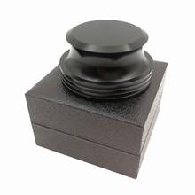 שיא משקל פטיפון ויניל מהדק LP דיסק מייצב בגימור שחור