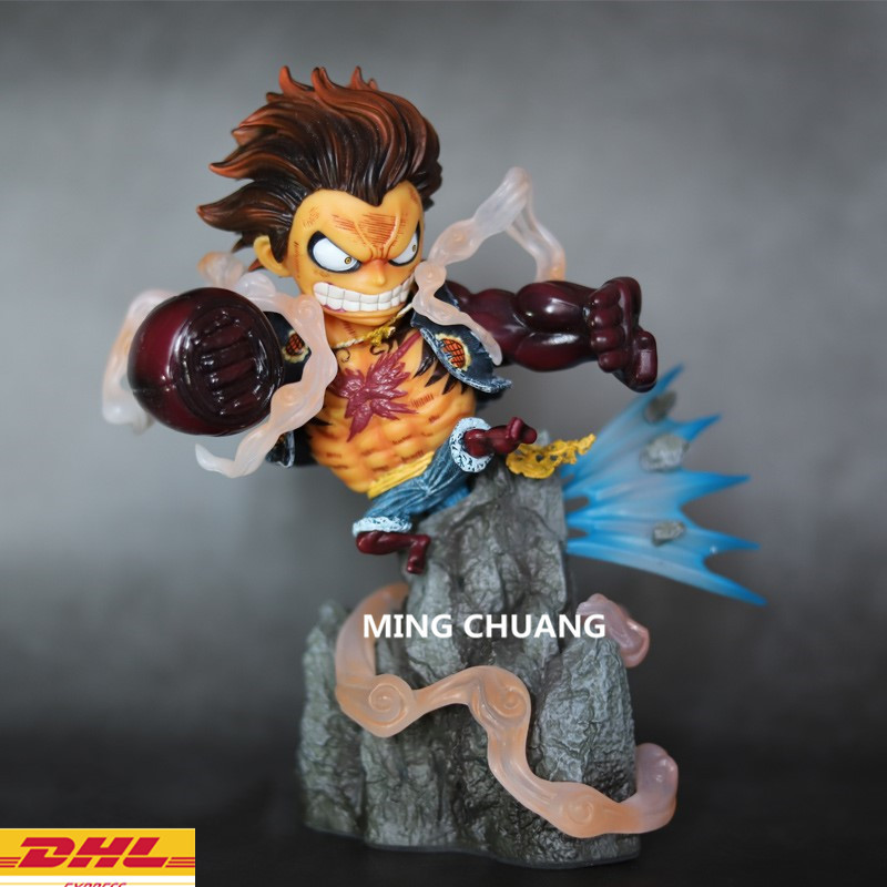 Statue ONE PIECE The Straw Hat Pirates Bust Monkey D. Luffy GK 21CM Action Figure Collectible Model Toy BOX D710 9statue one piece monkey d luffy bust the straw hat pirates gk action figure collectible model toy box d616