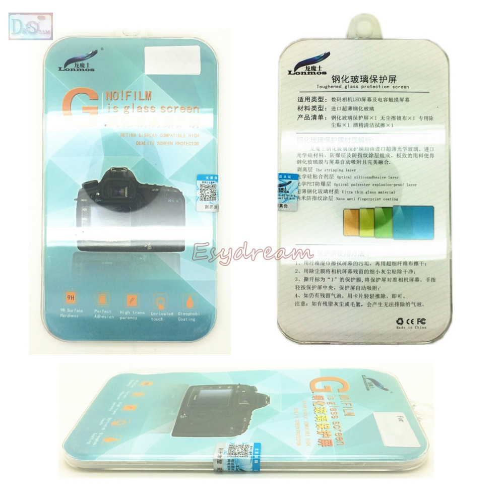 Image 2 - Self adhesive Glass LCD Screen Protector Cover Guard for Fujifilm Fuji X T3 XT3 Camera-in Camera LCD Screen from Consumer Electronics