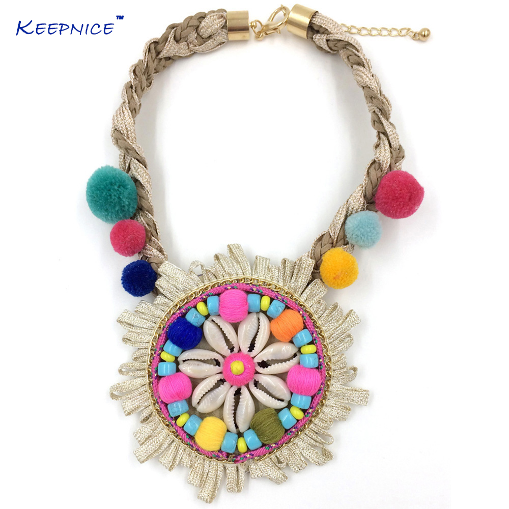 chic a to and necklace boho tassels pom pandahall make how