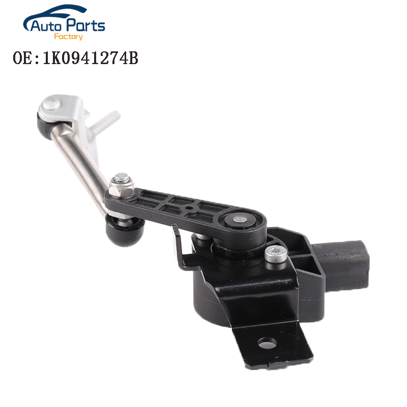 Genuine Level Sensor With Poles Front For Volkswagen AUDI Eos Golf R32 G*TI 1K0941274B
