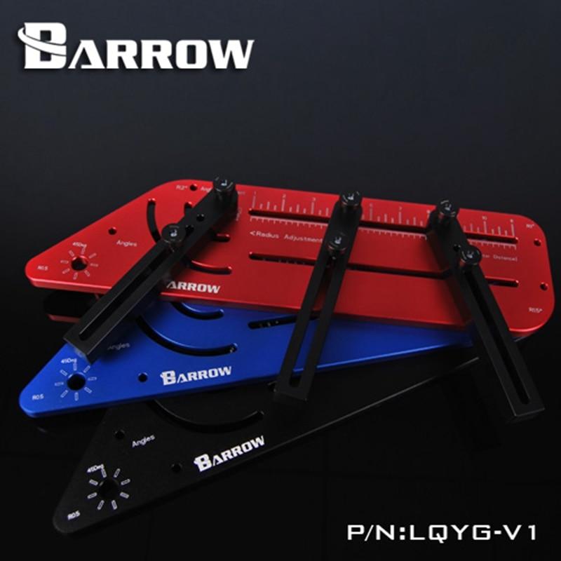 Barrow Multi-Angle Acrylic / PMMA Rigid Hard Tube Bending Mould Computer Water Cooling LQYG-V1 barrow lqyg v1 hard tube bend tool