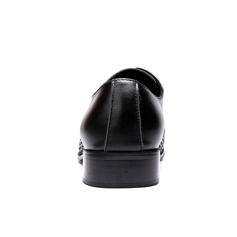 Robe Hommes Talon Crocodile Black Motif Vivodsicco vin patent Respirant Noir Formelle Plat Brillent De Nouvelle Chaussures Mariage Rouge Bas Wedge Mode Décontracté Grain Leather rzgxnEzp