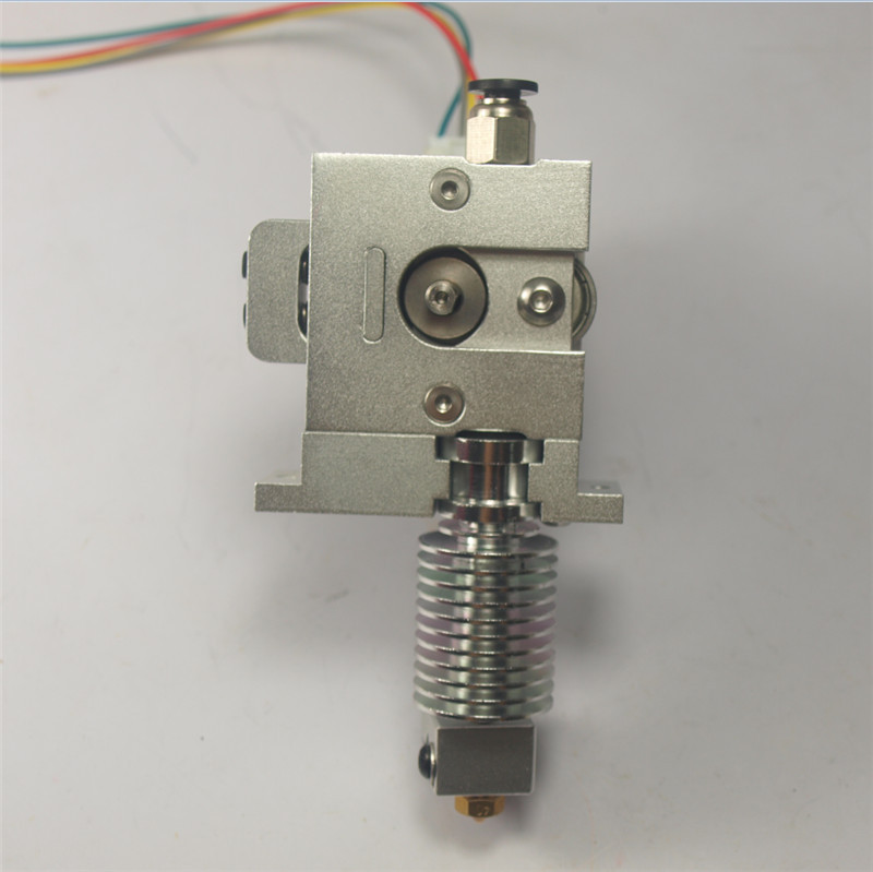 Horizon Elephant  RepRap Prusa Mendel metal direct extruder BullDog Lite Extruder+hot end kit for DIY 3D printer 1.75mm with hot dc24v cooling extruder 5015 air blower 40 10fan for anet a6 a8 circuit board heat reprap mendel prusa i3 3d printer parts