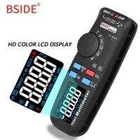 BSIDE ADM92CL Color LCD Display Digital Multimeter Auto Range True RMS Temp Tester Voltmeter Ampermetr Multimetro