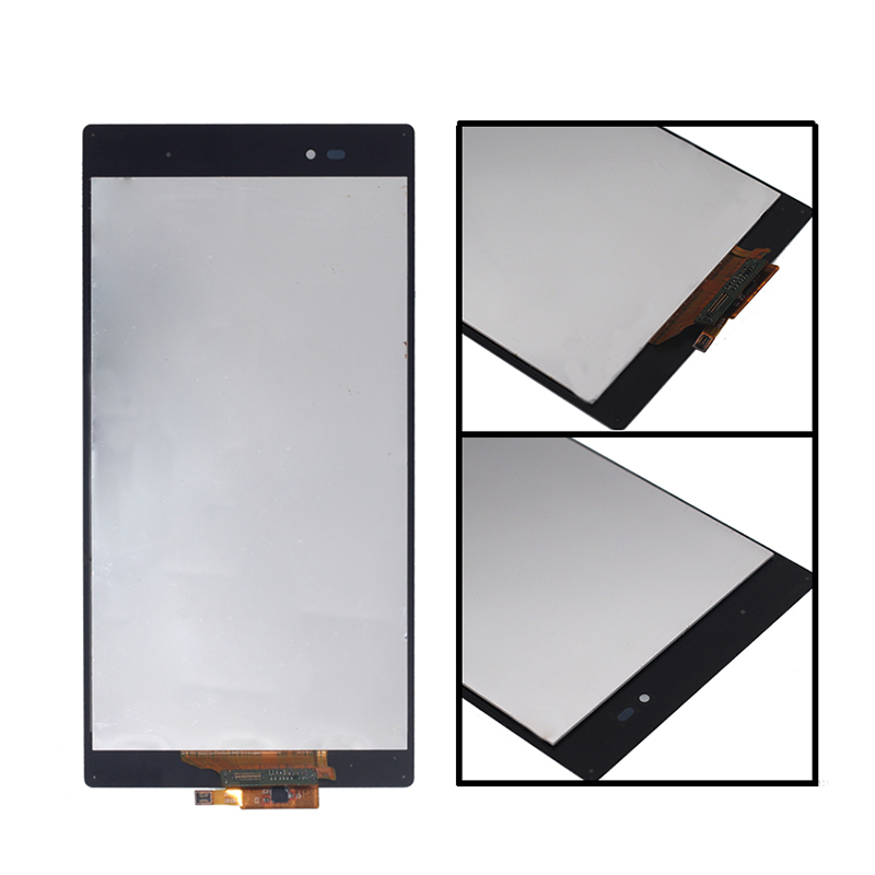 Suitable for Sony Xperia Z Ultra XL39h XL39 C6833 LCD touch screen digitizer for SONY Xperia Z Ultra with frame Free shipping in Mobile Phone LCD Screens from Cellphones Telecommunications