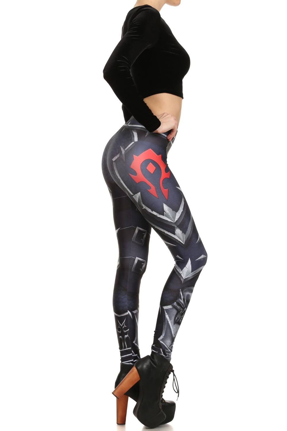 WOW Horde And Alliance Leggings 3D Print Leggings Women Leggins Sexy Slim Fitness Leggings Elastic Causal Leggings