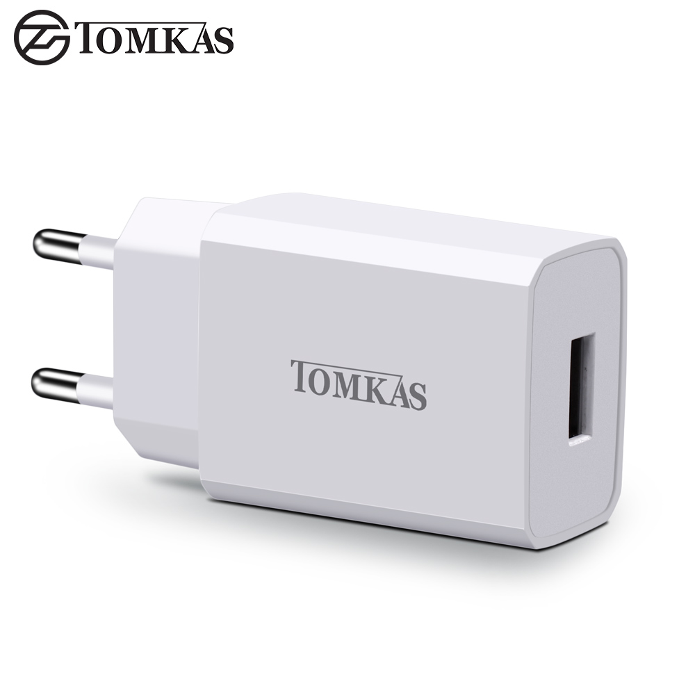 tomkas 5v 2a micro usb charger portable wall travel adapter eu plug charging dock for iphone ios. Black Bedroom Furniture Sets. Home Design Ideas