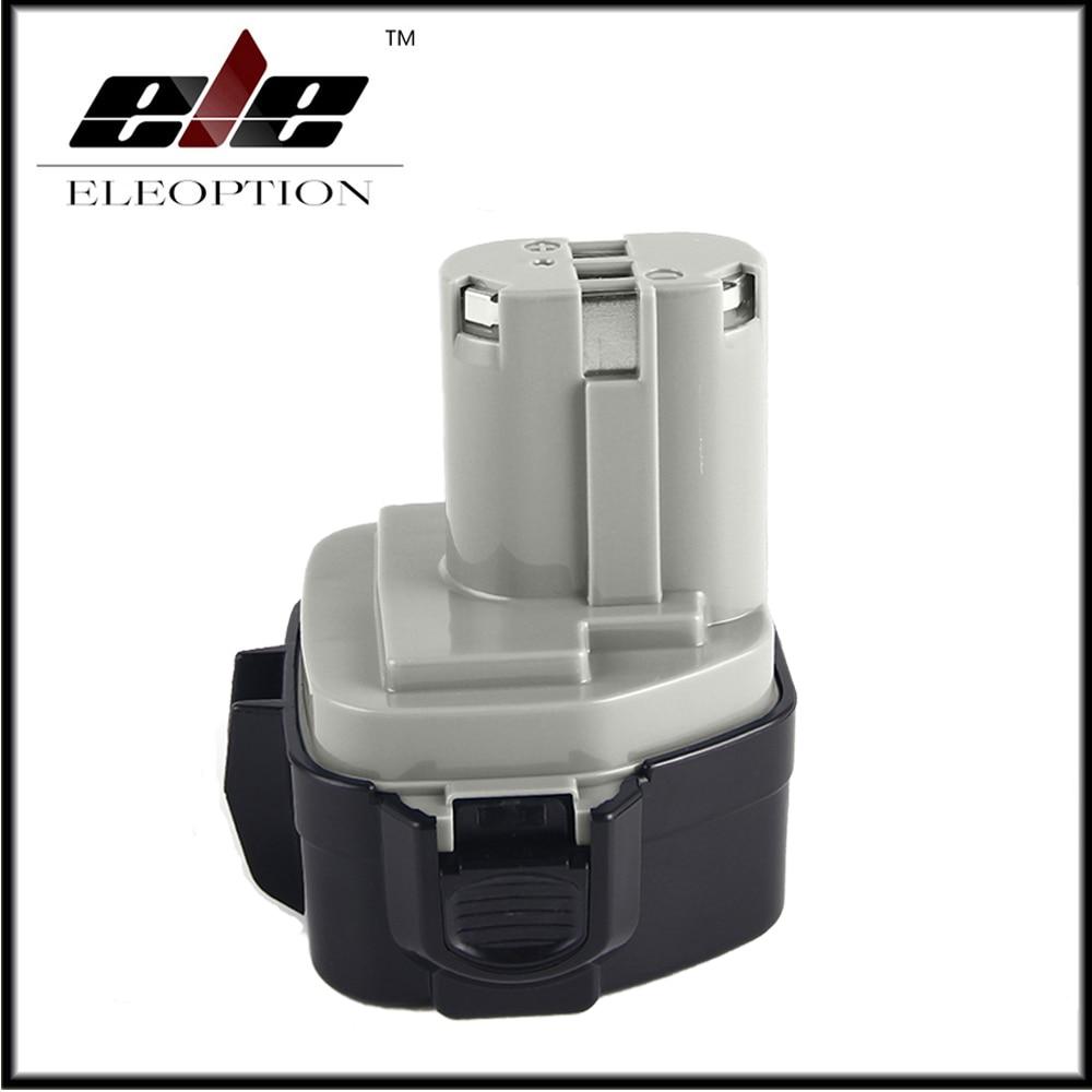 Eleoption High Quality 12V Extended 3.0AH Ni-MH Battery for MAKITA 1233 1234 1235 192696-2 192698-8
