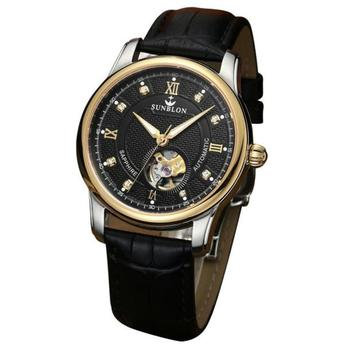 Sunblon - Automatic Mechanical Watch With Leather Band