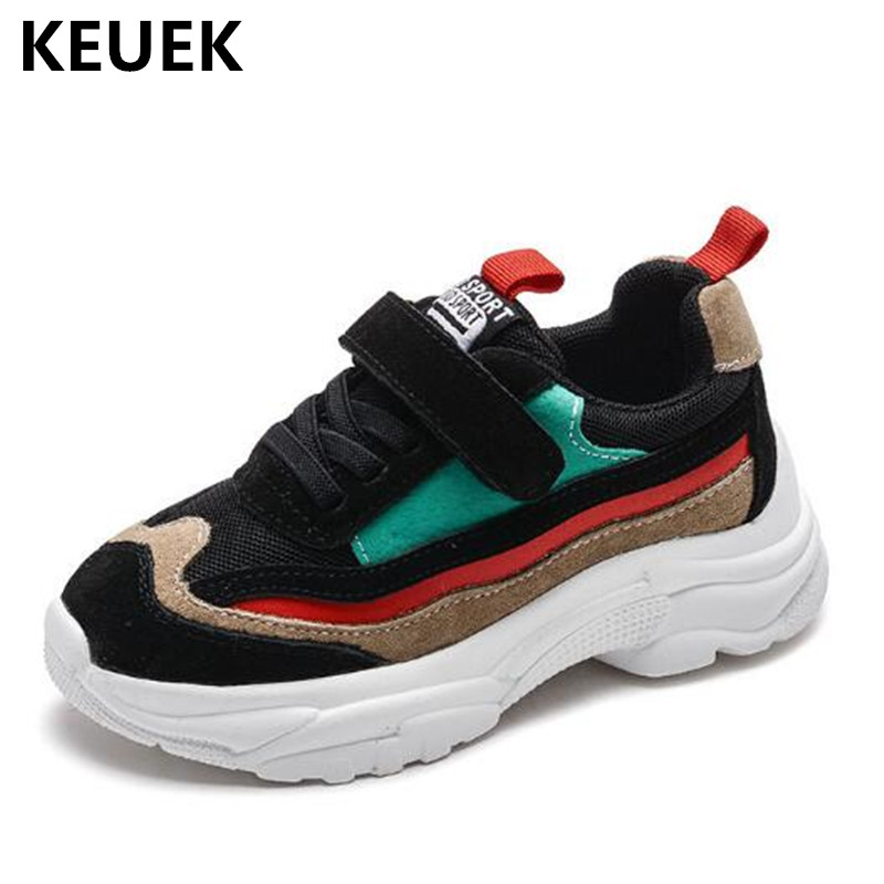 New Autumn Children Genuine Leather Casual Shoes Boys Girls Breathable Sneakers Baby Toddler Shoes Student Flats Kids Shoes 02 new fashion genuine leather children shoes boys girls casual brogue shoes baby breathable flats kids oxford shoes sneakers 03