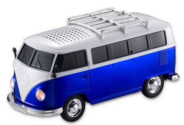 Presente de natal USB portáteis Speakers Mini autocarro WS-266 Car suporte ao jogador FM Radio suporte TF / u-disk para celular / Mp3 Player